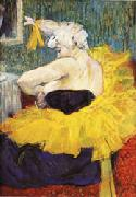 The Lady Clown Chau-U-Kao Henri de toulouse-lautrec